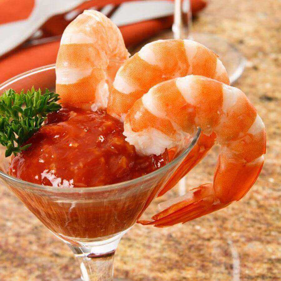 Large Cooked Peeled Shrimp Tail On 26-30pc/1lb